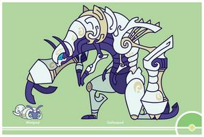 Pokemon #767-768 by Cosmopoliturtle