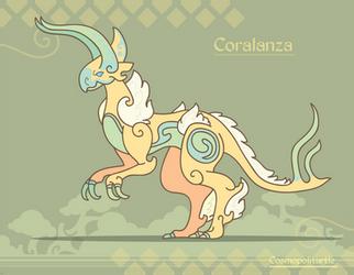 Hiraeth Creature #992 - Coralanza by Cosmopoliturtle