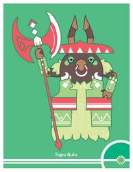 Pokemon #787 by Cosmopoliturtle
