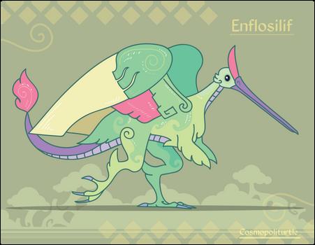 Hiraeth Creature #1005 - Enflosilif
