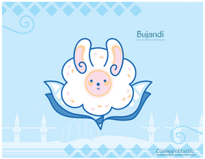 Hiraeth Creature #1009 - Bujandi