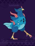 Hiraeth Creature #1021 - Vumilundo