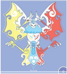 Pokemon Redesign #144/145/146