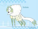 Hiraeth Creature #1076 - Rutibala