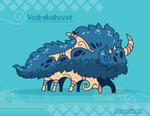 Hiraeth Creature #1133 - Vedrakabeest