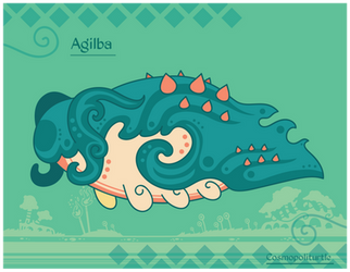 Hiraeth Creature #1160 - Agilba