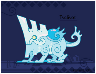 Hiraeth Creature #1164 - Tvelivot