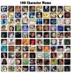 100 Characters Meme