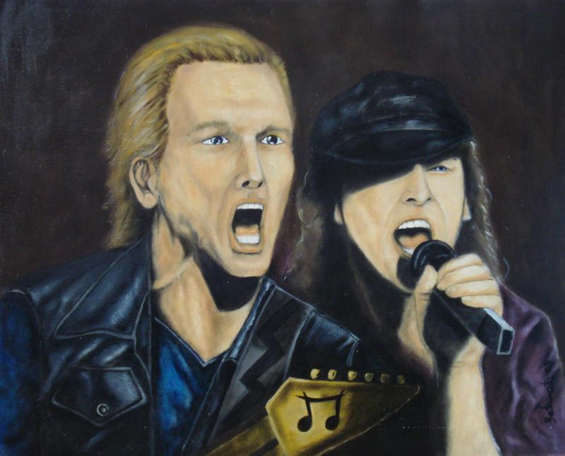 Scorpions Live by RedRoyalEagle