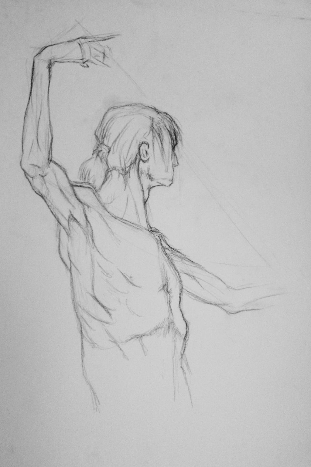 It is an image of Satisfactory Figure Drawing Male