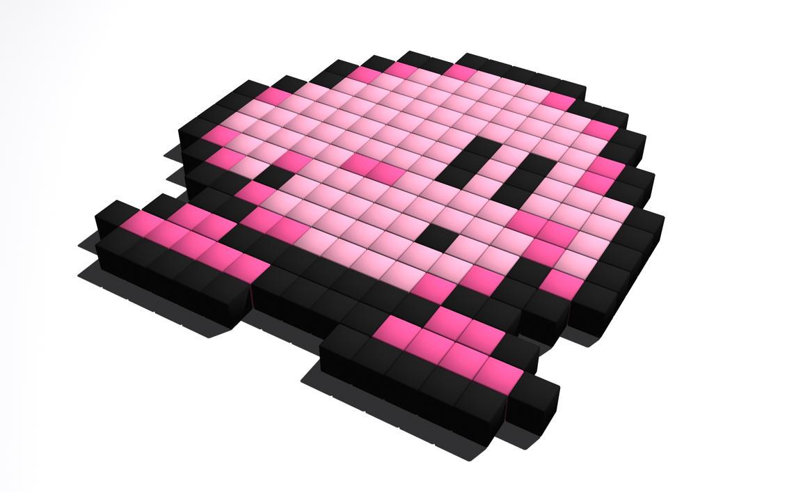 Kirby Sprite Grid | www.imagenesmy.com
