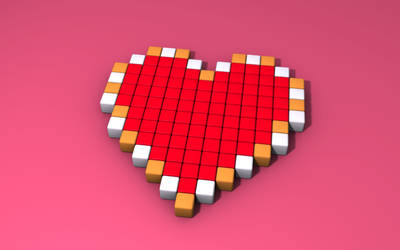 Heart container by 8-bit-Anon