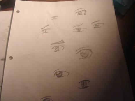 Practice Anime Eyes
