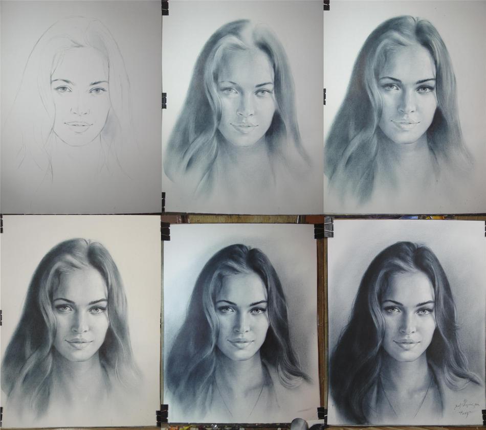 За сколько можно научиться рисовать портреты карандашом