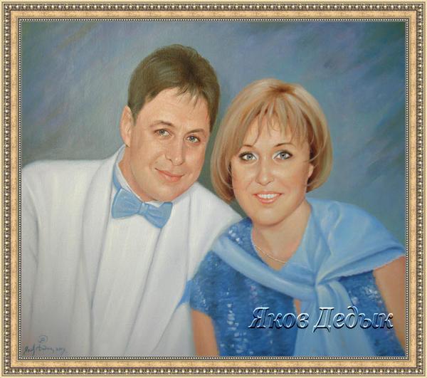 portrait oil painting #78 by yakovdedyk