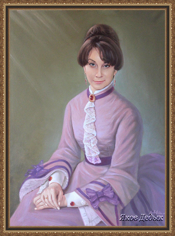 portrait of old-style. #194 by yakovdedyk