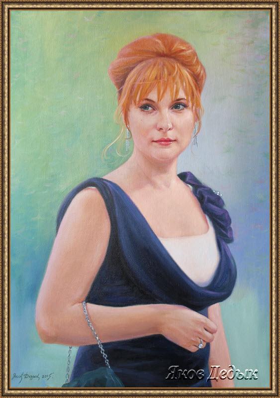 portrait oil #197 by yakovdedyk
