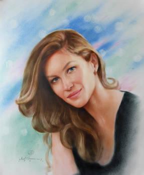 Portrait of Giselle Bundchen . 466