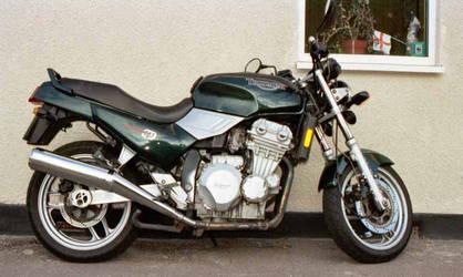 My MotorCycle on Sunday mornin