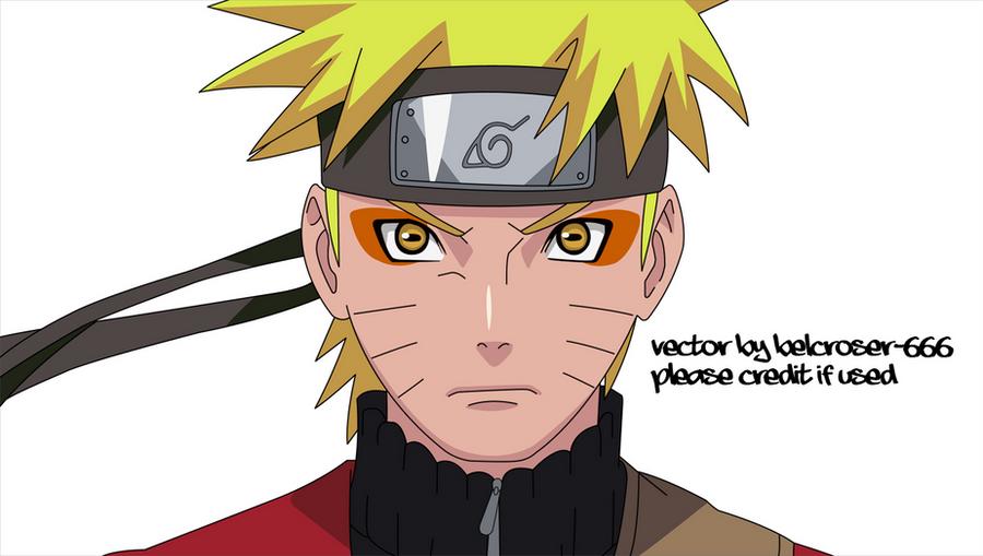 naruto sage mode vecto... Naruto Uzumaki Sage Mode Drawing