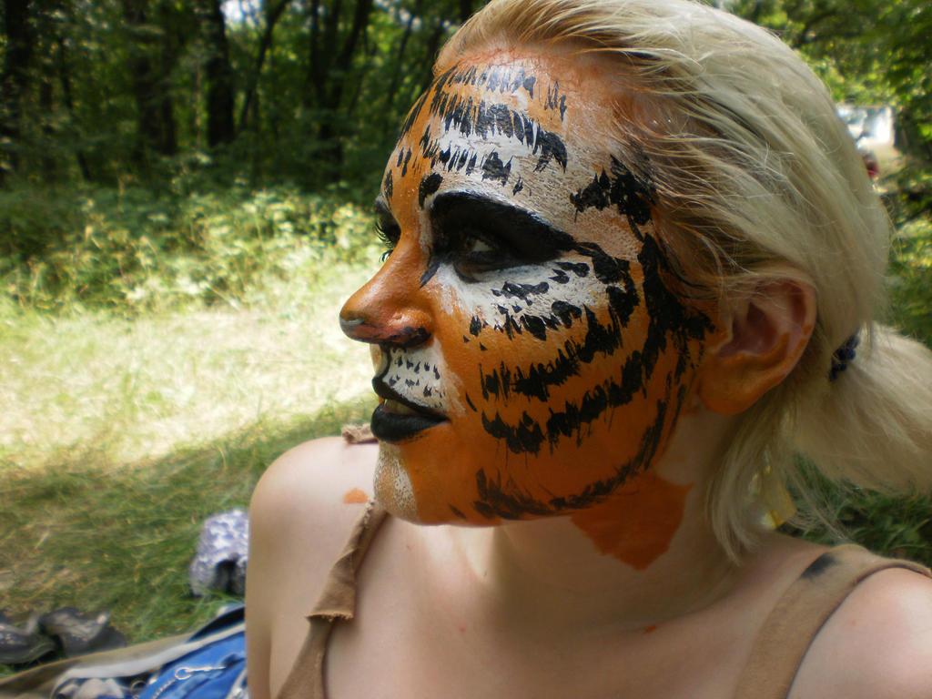 tigress by Ludishka
