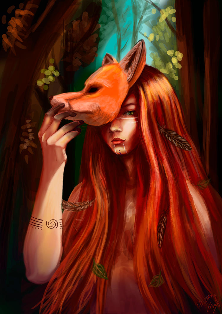 inhabitant of the forest by Ludishka