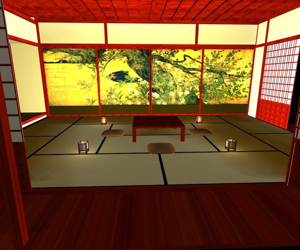 Japanese room by Ludishka