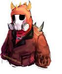 loadout doodles: [halloween] Pyro