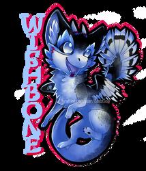 [COM] Wishbone Chibi Badge by BeastySoul