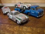 My Mercedes racing stable in miniature by cotmj