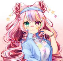 CM | Colored Bust Sketch by Nekoshei