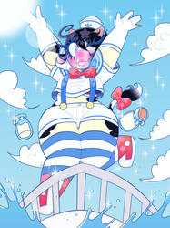 March Moo Vanilla Sailor