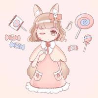 Candy Girl by yumeartjpg