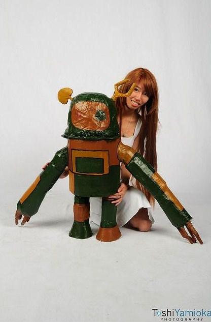 clannad ushio and robot - photo #4