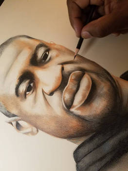 George Floyd Tribute drawing