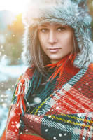 Winter portrait by annawsw