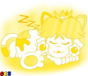 Sleeping Cat Daisy