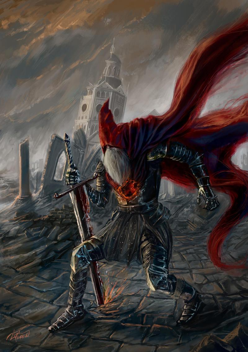 Slave Knight Gael By Jperezs On Deviantart