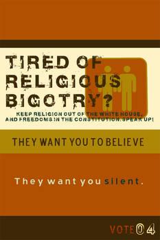 VoteAgainst Religious Hatred