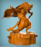 Stoat 3D Sculpt