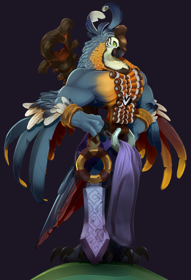 A Majestic Bird by NBQuaternion