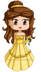Disney Beauty and the Beast: Belle by isabelle197