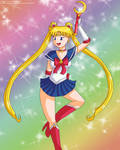 Tablet practice: Sailor Moon by isabelle197