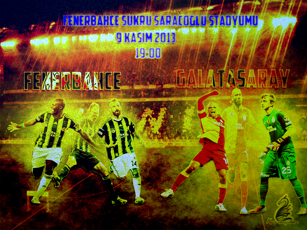Fenerbahce Galatasaray Wallpaper By Kwographics On DeviantArt