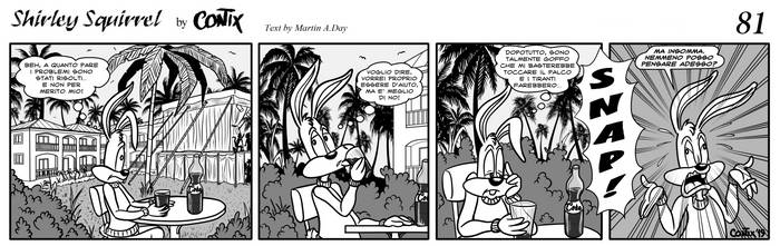 Shirley Squirrel - strip 81 - ITA by Contix