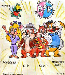 1992 - Chip and Dale Rescue Rangers by Contix