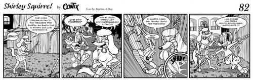 Shirley Squirrel - strip 82 - ITA by Contix