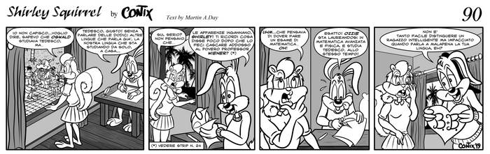 Shirley Squirrel - strip 90 - ITA