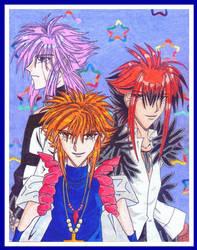 DK Gil, Fedelta and Bierrez by dee-chan