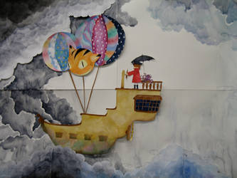 Stop-motion: Sky Pirate by gedatsu-kitteh